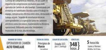 """Curso """"Operador de Camiones de Alto Tonelaje"""""""