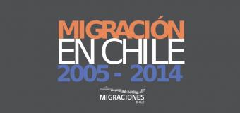 Anuario de Estadísticas Migraciones Chile 2005-2014