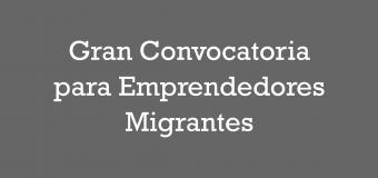 Gran convocatoria para emprendedores migrantes: Proceso de postulación cerrado
