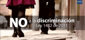 Video: NO a la discriminación